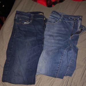 Three pairs of Arizona pants